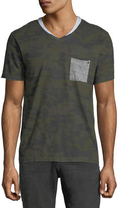 Eleven Paris Nabico V-Neck Short-Sleeve T-Shirt