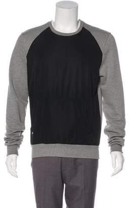 Christian Dior Logo Colorblock Sweatshirt