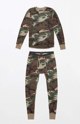 Brixton Armen Camouflage Long Underwear Set