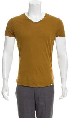 Orlebar Brown V-Neck Basic T-Shirt w/ Tags