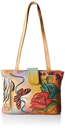 Anuschka Handpainted Leather Medium Tote