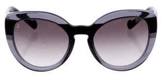 Louis Vuitton Peony Cat-Eye Sunglasses