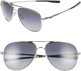 Oakley Elmont 61mm Polarized Aviator Sunglasses