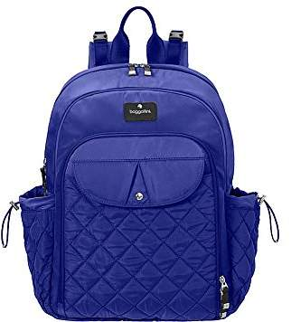 Baggallini BG by Women's Run Diaper Bag Backpack with Baby Stroller Straps