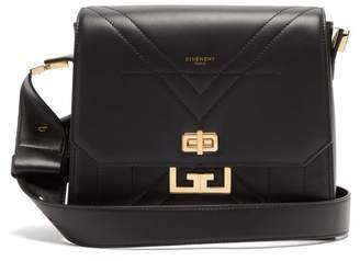 Givenchy Eden Quilted Leather Shoulder Bag - Womens - Black