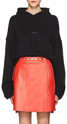 Acne Studios Women's Joggy Cotton Hoodie