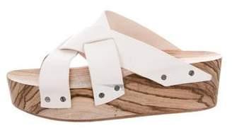 Proenza Schouler Flatform Slide Sandals