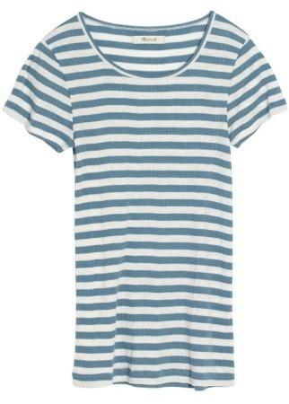 Women's Madewell Piper Linguini Stripe Tee 2