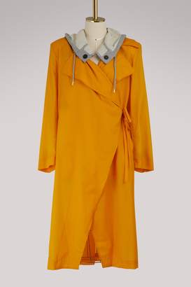 Aalto Hooded trench coat