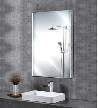 "Lighted Impressions Zip LED 32"" x 24"" Bathroom Wall Mirror W/ Wireless Speakers"