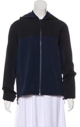 Outdoor Voices Hooded Zip-Up Jacket