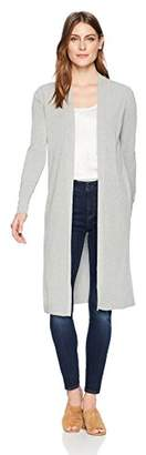 Lark & Ro Women's Long Sleeve Lightweight Long Cardigan Sweater