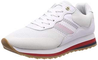aeb20a8457baf5 Tommy Hilfiger Women s Tommy Corporate Retro Sneaker Low-Top