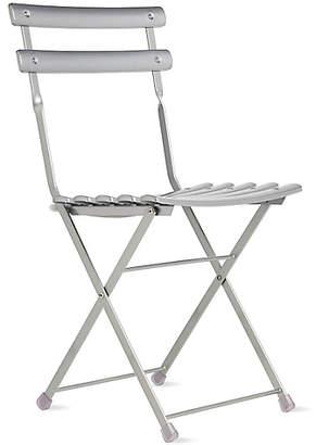 Design Within Reach Arc En Ciel Folding Chair, Silver