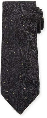 Etro Cravatta 8cm Paisley Silk Tie