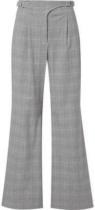 Opening Ceremony Prince Of Wales Checked Woven Wide-leg Pants - Gray