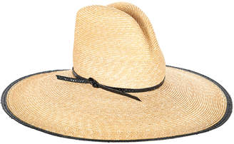 Veronica Beard Wide-Brim Straw Hat