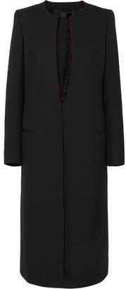 Haider Ackermann Grain De Poudre Wool Coat - Black
