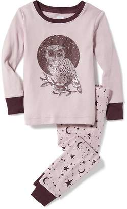 Night Owl Graphic Sleep Set for Toddler & Baby $14.99 thestylecure.com