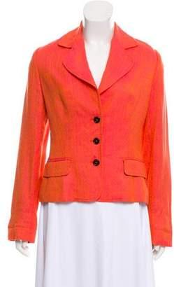 Dolce & Gabbana Tweed Structured Blazer