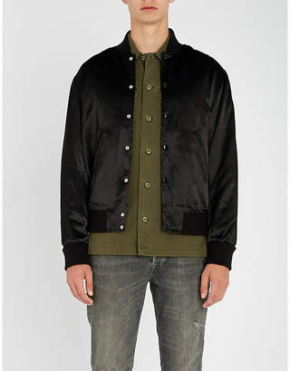 The Kooples Teddy satin jacket
