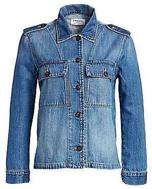 Frame Women's Service Denim Shirt-Jacket