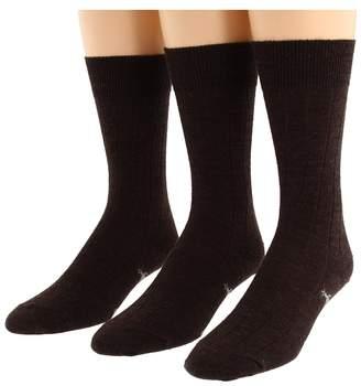 Smartwool City Slicker 3-Pair Pack Men's Crew Cut Socks Shoes