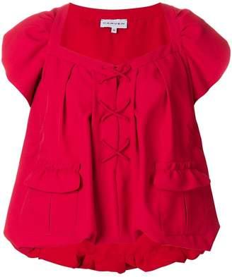 Carven peplum blouse