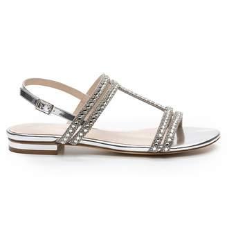 Cosmo Paris COSMOPARIS Hidi Mir Flat Leather Sandals