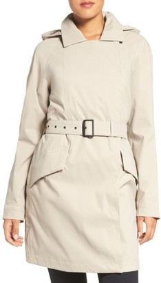 Women's The North Face Kadin Waterproof Trench Coat $199 thestylecure.com