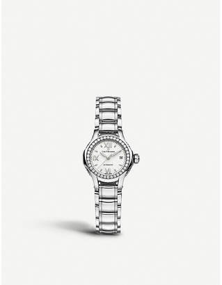 CARL F BUCHERER 00.10551.08.25.31 Pathos Queen stainless steel diamond and sapphire crystal watch