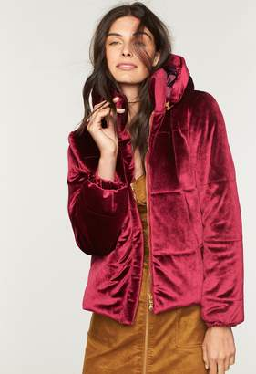 Milly MillyMilly Velvet Puffer Jacket