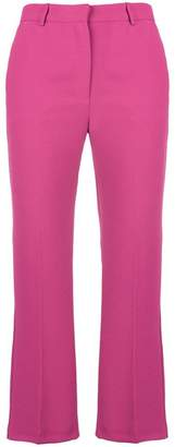 Pinko cropped flare trousers