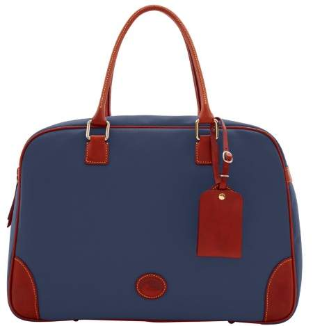 Dooney & Bourke Nylon Bowler Duffle Bag - MIDNIGHT BLUE - STYLE