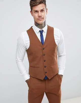 Harry Brown wedding slim fit super soft waistcoat