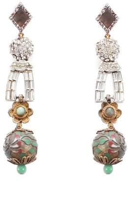 Lulu Frost Vintage Cloisonne Journey Earrings