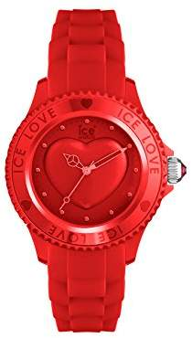 Ice Watch Ice-Watch - ICE Love 2010 Red - Women's Wristwatch with Silicon Strap - 013725 (Small)