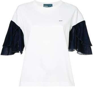 Kolor ruffled sleeves T-shirt