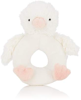 Jellycat CLUCKY DUCK RING RATTLE