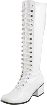 Funtasma by Pleaser Women's Retro-302 Lace Up Gogo Boot