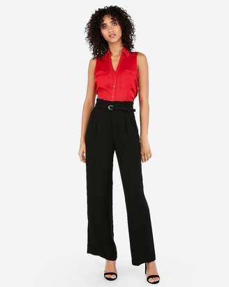 f7742d1b2dfa1 Express Slim Sleeveless Satin Portofino Shirt