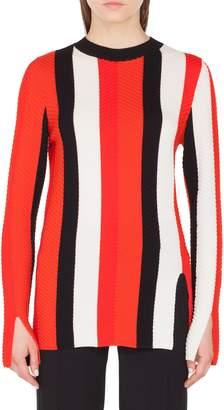 Akris Punto Stripe Knit Pullover