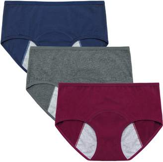 Equipment INNERSY Women's Period Menstrual Organic Cotton Panties for Postpartum Recovery 3 Pack