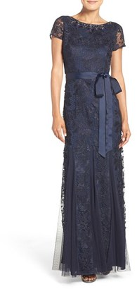 Women's Adrianna Papell Embellished Guipure Lace Gown $279 thestylecure.com