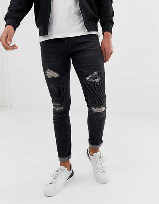 Loyalty And Faith skinny fit jeans in washed black