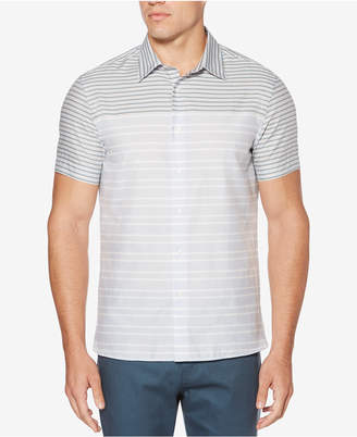 Perry Ellis Men's Engineered Striped Shirt