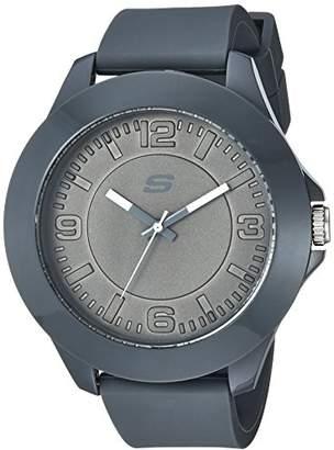 Skechers Men's Quartz Plastic and Rubber Casual Watch