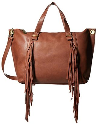 Steve Madden Women's Lucyy Fringe Tote $118 thestylecure.com