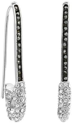 Karl Lagerfeld Paris Safety Pin Earrings