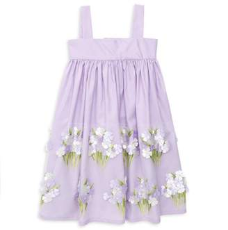 Isabel Garreton Little Girl's Hydrangeas Sundress